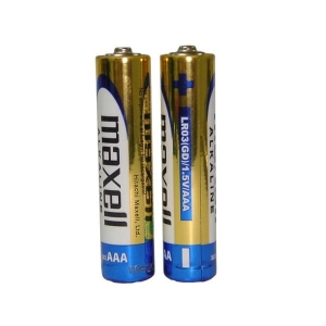 MAXELL BATTERY ALKALINE LR03/AAA SHRINK*2  723927.04.CN