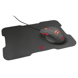 VARR GAMING SET MOUSE 800 - 3200DPI + MOUSEPAD 295 X 210 X 2mm [44856]
