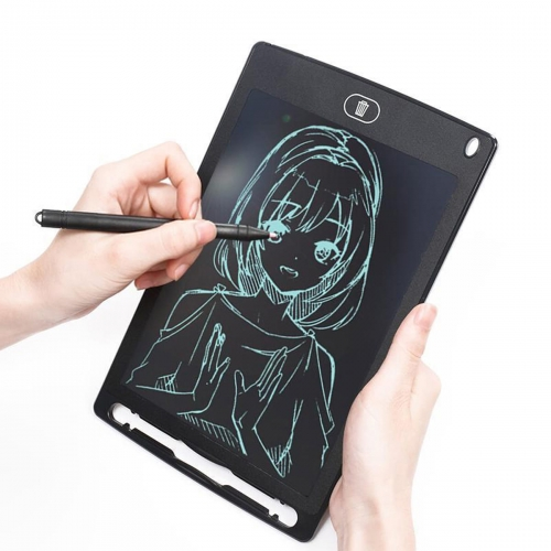 "PLATINET LCD WRITING TABLET 8,5"" BLACK WITH MAGNET ON BACK [45024]"
