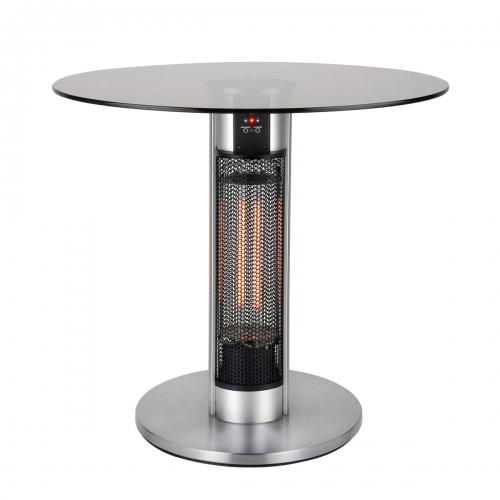 PLATINET TABLE HEATER REMOTE CONTROLLER 75CM 800W/1600W IP55 45147